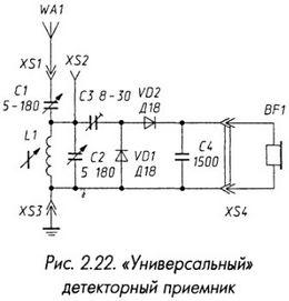 Универсальный детекторный приемник